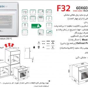 راهنمای نصب فر برقی اخوان کد F32