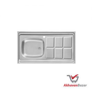 سینک ظرفشویی کد 10050CR-6 اخوان
