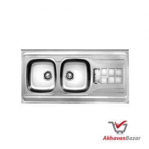 سینک ظرفشویی کد 151SP اخوان