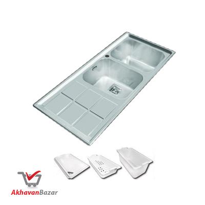 بررسی فنی سینک ظرفشویی کد 500S اخوان
